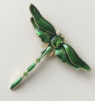 Dragonfly brooch in  enamel on  metal