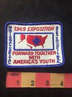Vtg 1969 EXPOSITION NATIONAL CAPITAL AREA COUNCIL BSA Boy Scouts Patch 88NU