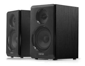 Edifier R33BT Active Bluetooth Bookshelf Speaker Set - Black