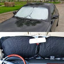 160×86cm Durable Car Front/Back Windshiled Sunshade Cover Anti Sun Snow Rain Set