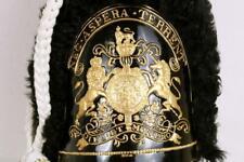 More details for british grenadier guards fur skin cap mutz busby 1790 military headdress helmet