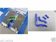 ALUMINUM RADIATOR +blu hose HONDA CR250R CR 250R CR250 92-96 93 94 95  1996 1995