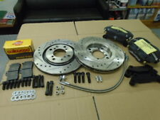 Triumph STAG ** UPRATED BRAKE KIT- WILWOOD CALIPERS VENTED DISCS ALL FITTINGS