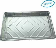 More details for foil baking trays large tray bake containers aluminium disposable dishes 12 x 8