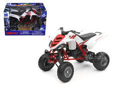 2005 YAMAHA 660R RAPTOR WHITE/RED ATV  MOTORCYCLE 1/12 BY NEW RAY 42923