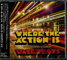 WATERBOYS-WHERE THE ACTION IS-JAPAN CD F30