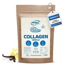 Kollagen Pulver 1kg Vanille - Kollagen Hydrolysat Peptide