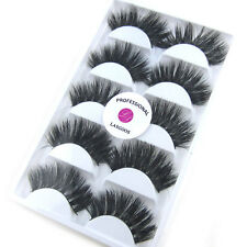 New 2Boxes/Lot Mink Natural Thick Long False Eyelashes Popular Eye Lashes Makeup