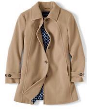 Lands End Warm Camel Line 96 Luxe Wool Winter Women's Coat Size 22W  NWT