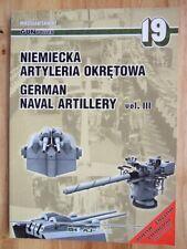 German Naval Artillery, vol III - Miroslaw Skwiot (GunPower 19)