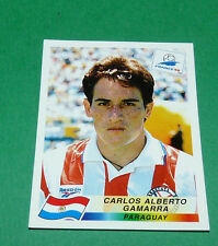 N°268 GAMARRA PARAGUAY PANINI FOOTBALL FRANCE 98 1998 COUPE MONDE WM