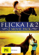 FLICKA 1 & 2 FRIENDS FOREVER horse Tim McGraw 2-DVD NEW (Region 4 Australia)