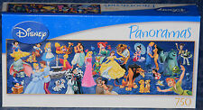 "Disney PANORAMAS ""Cast of Characters"" 750 Piece PUZZLE, MEGA Brands, NEW SEALED"