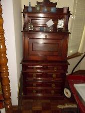 Antique Eastlake Desk Petite 29 inches wide. Circa 1890 Mahogany