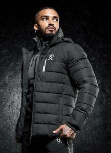 Gym King Mens Core Puffer Jacket - Black
