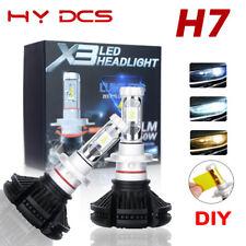 H7 50W 12000LM Cree LED Headlight Bulbs Kit High/Low Beam 6500K Lamp For BMW X3