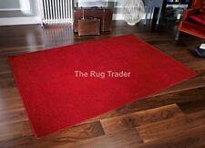 Tapis rouge pour la maison en 100% laine