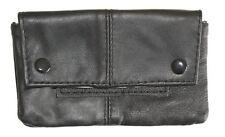 Leather Tobacco Pouch Organizer Black 1199