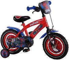 Kinderfahrrad Disney Spiderman 12 Zoll Stützräder Fahrrad Rad Kinderrad Lernrad