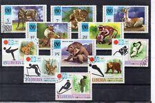 Liberia Fauna Series del año 1971 (DK-277)