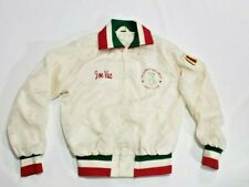 Vintage Joe Vac Italy Olympics World Cup Jacket Size MED St. Albert Golf Club