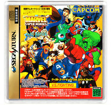 MARVEL SUPER HEROES VS STREET FIGHTER SATURN FRIDGE MAGNET IMAN NEVERA