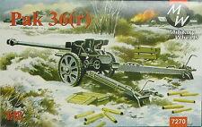 76,2 mm Pak 36(r) , 1/72, MW , Plastik , *NEU*