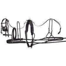 "Tough-1 Tracker Leather Pony Harness Medium (37""-46"", fits Ponies 450lbs-600lbs)"