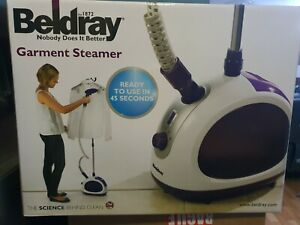 New Beldray Professional Clothing & Garment Steamer with Rail and Hooks