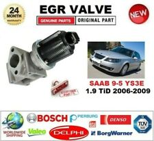 FOR SAAB 9-5 YS3E 1.9 TiD 2006-2009 Electric EGR VALVE 2-PIN with GASKETS/SEALS