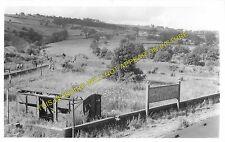 Queensbury Railway Station Photo. Clayton - Holmfield. Bradford to Halifax. (2)