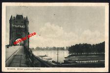 Worms-Ernst Ludwig-puente-Renania-Palatinado - arte mapa - 1916-campo post - 1.wk-8