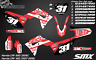 2019 GEICO Honda CRF450 CRF 250 graphics kit decals SMX stickers 2018 2017 2020