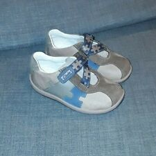 b3b6c91be1baf Boys Clarks Leather Brown First Shoes Plane Puzzle New size uk 6 F