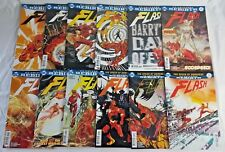 FLASH 25 ISSUE COMIC RUN 1-25 COMPLETE (2016) DC COMICS LENTICULAR VARIANTS