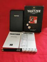 Vintage MB Deluxe Travel Yahtzee Game 1982 Hardcase 100% COMPLETE. EXCELLENT!!!