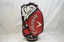 New Callaway Great Big Bertha Odyssey XR Staff Golf Bag Tour full Size Red White