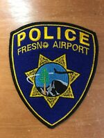 PATCH POLICE FRESNO AIRPORT CALIFORNIA CA