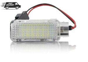 2x LED Footwell Step Glove Box Trunk Light Fit VW Transporter Golf GTI MK6 Jetta