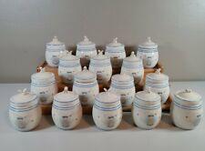 Lenox Pooh Pantry Spice Jar Set of 16