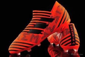 $170 Adidas JR Nemeziz 17+ 360 Agility FG Soccer Cleats Boot Orange-Black S82413