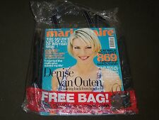 2001 AUGUST MARIE CLAIRE UK EDITION MAGAZINE - FREE MINI TOTE INCLUDED - A 1953