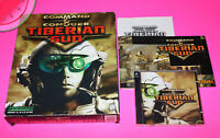 PC CD-ROM Game COMMAND & CONQUER TIBERIAN SUN Big Box with Manual WIN 95, 98, NT