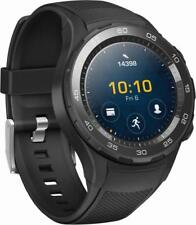 New Huawei - Watch 2 Sports Smartwatch 45mm Plastic - Carbon Black - Android/iOS