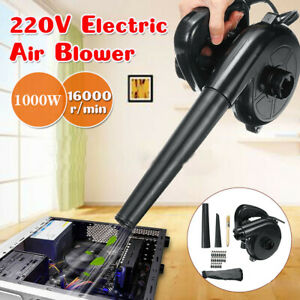 1000W Electric Air Blower Hand Operated Car Computer Vacuum Dust Cleaner UK