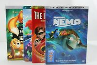 Disney movies lot of 4 Little Mermaid, The Incredibles, Finding Nemo and more