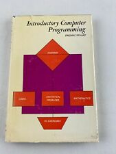 Introductory Computer Programming, Fredric Stuart, 1966 Hardcover, Wiley