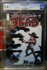 Walking Dead #50 Wraparound Cover CGC Graded 9.8 Image 6/08