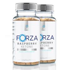 FORZA Fitness Raspberry Ketone - Natural Fat Burner Diet Pill Weight Loss x180