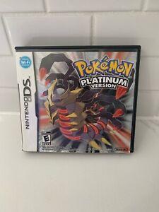 Pokemon Platinum Version Nintendo DS Game